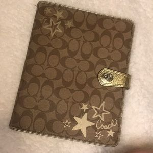 Coach IPad case used